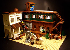 Brennan Gulch (Profound Whatever) Tags: desert lego western sheriff wildwest bordello whoelseneedsabacktothefuturemarathon
