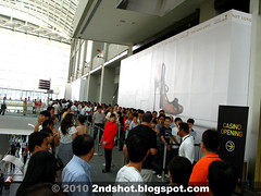 Marina Bay Sands Casino Long Queue