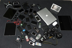 What's on my desk 2 (Faisal Alrajhi) Tags: camera black ego lens mouse psp nokia video nikon ipod blackberry kodak laptop sony magic 3g card flip adapter headphones hd pocket zain sim asus lamborghini gadgets camcorder d3 bold beats 3gs htc e90 blackblack ipad drdre simcard macbook ultrahd zi8 microsim n900