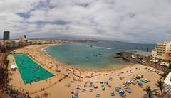 La Toalla mas grande del mundo.Playa de Las Canteras.Las Palmas de Gran Canaria