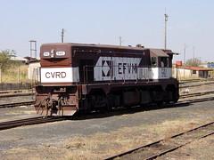 FPM746 Locomotiva EFVM 542 (Fernando Picarelli Martins) Tags: railway locomotive 1960 estadosunidos ferrovia g12 locomotiva efvm dieselelectriclocomotive estradadeferrovitóriaaminas emdgm locomotivadieselelétrica classebb modelog12 efvm542 electromotivedivisongeneralmotors