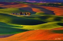 Palouse Sunrise (wrtrekker (Jerry T Patterson)) Tags: sunset sun color nature sunrise washington nikon bravo spokane farm country farmland hills patterson rs hdr hypothetical palouse coth theworldwelivein supershot magicofnature bej abigfave platinumphoto colorphotoaward ultimateshot theunforgettablepictures goldstaraward internationalgeographic amiamoci rubyphotographer awardtree saariysqualitypictures pinnaclephotography