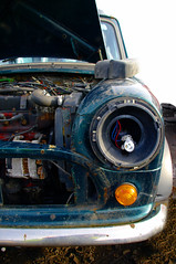 Front end of an Original Mini (Its.Sammieee.) Tags: scrapyard minis