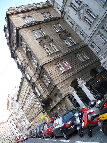 Wien, 9. Bezirk, Art of Facades of Vienna (Porzellangasse)