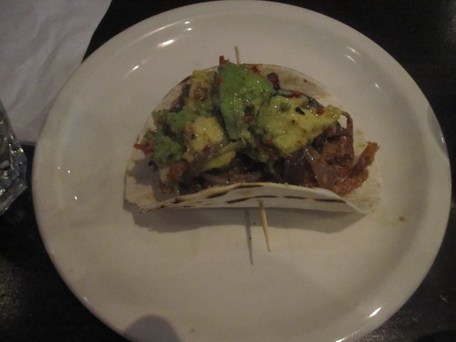 Soft-shell crab taco at Lucille's