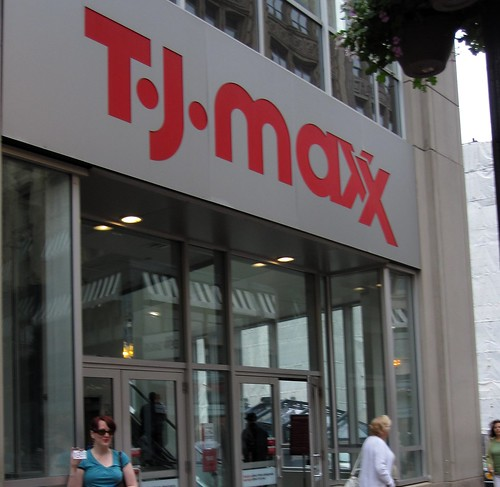 outside tjmaxx