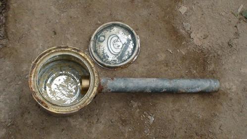 Kompor BiogasSederhana dari kaleng bekas