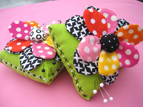Hugs and Kisses Pincushions
