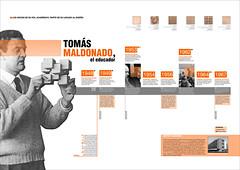 Diseo II (Ctedra Gabriele) (ajfaggiani) Tags: orange black design negro timeline helvetica diseo naranja ulm gabriele computergraphic hfg infografa uba fadu timesnewroman tomsmaldonado lneadetiempo