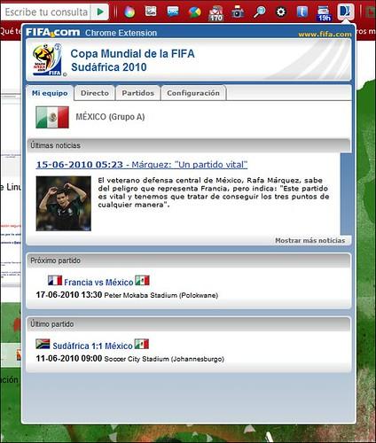 Fifa Chrome Extension