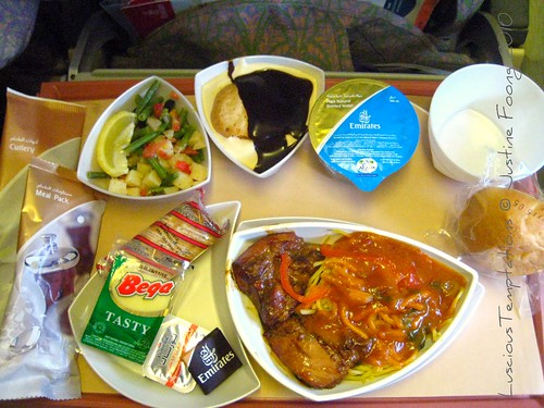 Dubai - KL Flight Meal