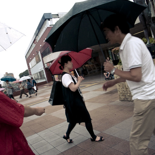Trio Umbrella