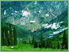 There is a Meadow (IshtiaQ Ahmed revival to Photography) Tags: morning camping pakistan clouds meadows valley paya kaghan shogran height mansehra 10000feet kewai ishtiaqahmed