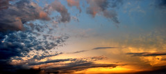 the sky moves (Strange Reaction) Tags: pink blue sunset red sky orange love yellow eyes nikon random feelings