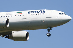 EP-IBB - 727 - Iran Air - Airbus A300B4-605R - 100617 - Heathrow - Steven Gray - IMG_4206