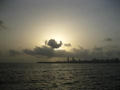 Mumbai skyline (anuj87) Tags: india nature mumbai anuj marinedrive mumbaibeach
