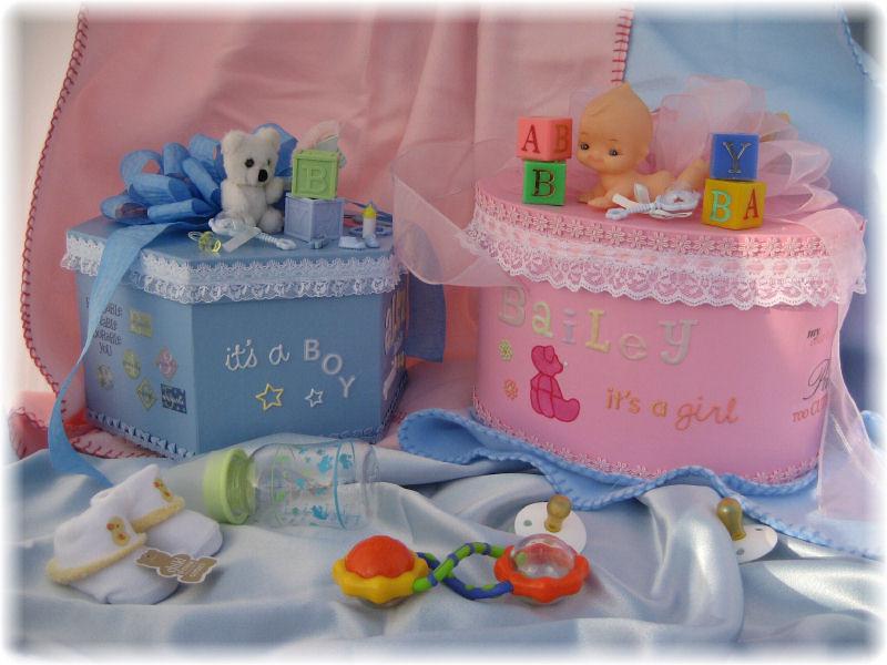 Baby Keepsake Gift Boxes