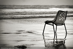 Isolation (Danial Shah) Tags: pakistan sea beach broken chair alone view isolation lonely arabian karachi clifton edanial