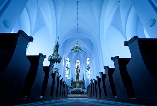 フリー写真素材, 建築・建造物, 教会・聖堂・モスク, ブルー, ルーマニア,