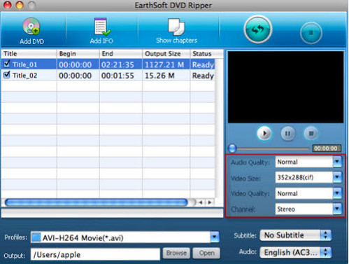 Rip DVD to iPod, iPhone, PS3 on Mac 4719760524_1140915025