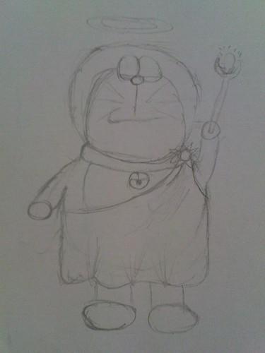Doraemon in costumes 5074208823_dacd4cf059