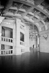 Chambord_06 (Chris Protopapas) Tags: france castle art architecture spiral nikon arch staircase chambord helix leonardo chateau loire renaissance nikons3 drumscanner hells3900 itsnotacapture