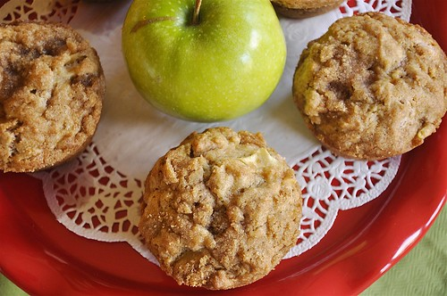 Apple Strusel Muffins