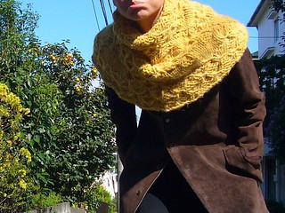 Alanna Nelson knits top down cowls