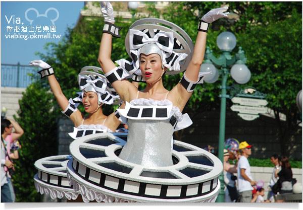 【香港迪士尼】跟著via玩香港(3)~迪士尼卡通人物歡樂巡遊17
