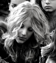 . (Frhling. (Sve')) Tags: portrait people blackandwhite bw face canon sad bn powershot ritratto biancoenero canonpowershot faccia canonpowershotsx10is