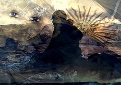 Qu sabr la jungla de la dignidad destruida?... (conejo721*) Tags: argentina guerra ojos cielo bandera palabras soldado mardelplata poesa poema sentimientos conejo721