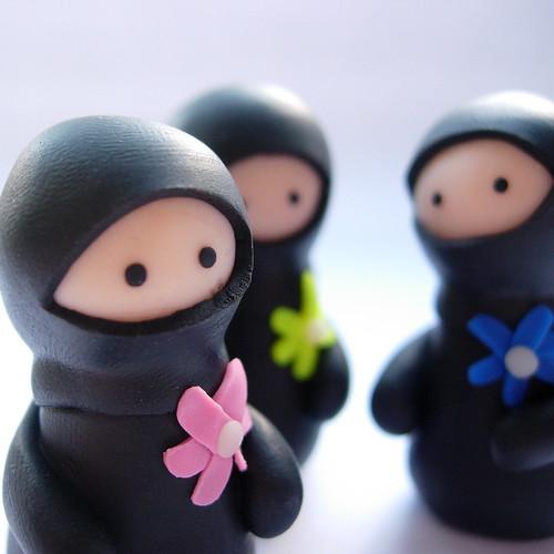 Bride and Groom Ninjas