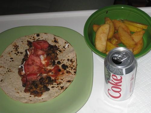 Taco & apples