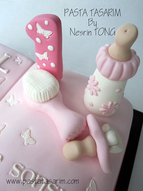 1ST BIRTHDAY CAKE - MASAL ( storybook cake)