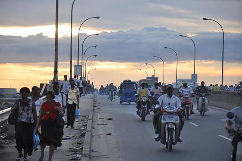 Traffic in Cotonou