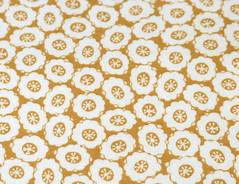 PREORDER SALE Peek-a-boo Bag - Mustard Flower Print
