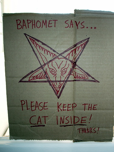 Baphomet sez