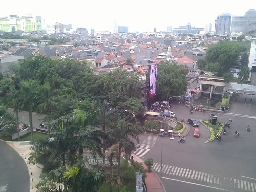 View over Jakarta from Grand Indonesia mall
