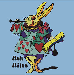 Alice in Wonderland - The White rabbit Two - Ask Alice (Bleed-Art) Tags: shirt artwork internet artists prints johnnydepp memes timburton aliceinwonderland whiterabbit annehathaway madhatters aliceandwonderland coolshirts redqueen alicewonderland whitequeen askalice printondemand helenacarter artworkonline sellingartonline bleedart alicewonderlands