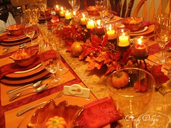 Fall Dinner for Eight