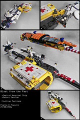 Blast from the Past I (2006) (Pierre E Fieschi) Tags: hospital lego pierre space vessel micro spaceship homeworld spacecraft mothership moc microspace fieschi microscale spacehip microspacetopia microscpaetopia spaceshiop