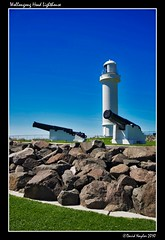 Wollongong Head Lighthouse (Lock Stock and Travel) Tags: light lighthouse canon nikon gun australia newsouthwales shipping beacon wollongong emplacement sentry illawarra d700 davidnaylor wollongonghead dblringexcellence