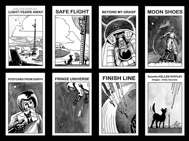 Light-Years Away: Kellen Shipley Album Art