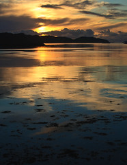 Lochinver Sunset (AEChown) Tags: sunset sutherland lochinver assynt