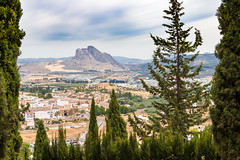 Lovers' Rock (Keith in Exeter) Tags: lovers rock peñadelosenamorados antequera city landscape mountain trees outdoor legend spain