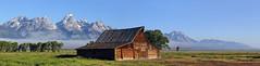 Morman Row at Moulton Barn (John's Love of Nature) Tags: mormanrow moultonbarn johnkelley tetons