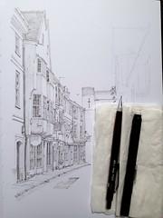 Progress on a street in York (WIP)