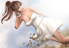 The Summer breeze (meriluu17) Tags: una foxcity arte breeze butterfly butterflies fly wind windy shine summer girl portrait gone minds mood outdoor people sweet walk inmyminds thinking love