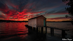 0S1A1986 (Steve Daggar) Tags: saratoga sunset gosford nswcentralcoast waterscape landscape wharf boasthed