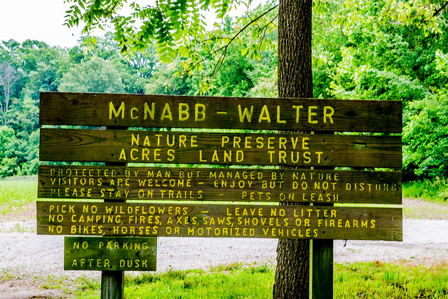 McNabb-Walter Nature Preserve - June 22, 2017